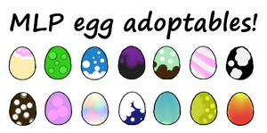 MLP eggs adoptables!! by StarlitStables