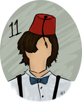 The Eleventh Doctor by ElizAarons