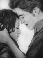 Bella and Edward by sammmkay