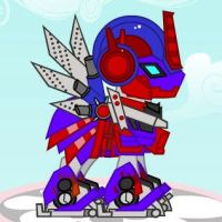 Optimus Prime Pony. by wereWING