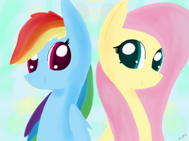 Flutter and Dash by A-happy-thought