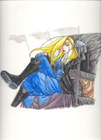 Olivier Mira Armstrong by creativegoth18