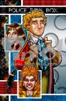 Sixth Doctor Poster by jonpinto