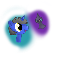 A Pony and its Shuppet - Commission by Joltimeon