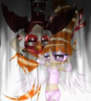 Blossom and Brick- Angels and Demons by polarbear1234