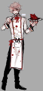 oc: killer chef by milkysou
