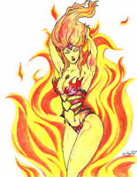 Adventure Babes - Flame Princess by BishopPina