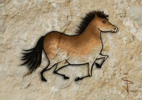 FIN-Cave-Horse-01 by NorthumbrianArtist