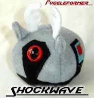 Puggleformer - Gray Shockwave by callykarishokka