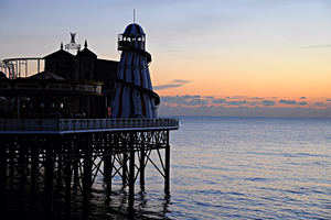 Sunset at Brighton Pier by Modernmyth6277