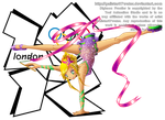 Zoe at the 2012 London Olympics by Galistar07water