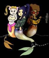 The fitness mermaids by Oh-Milk