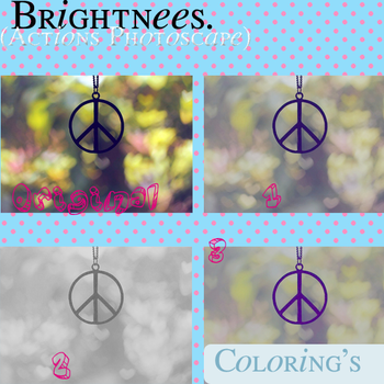 Brightnees Coloring (Actions Photoscape) by PauEdiitions