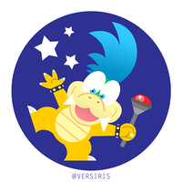 Larry Koopa by Versiris