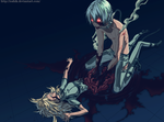 Lily and Haine Rammsteiner by ioshik