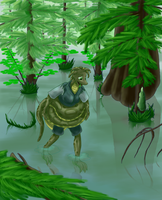 Snaking Through The Swamp by Goldquiver