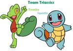 Team Triassics by MCsaurus