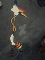 Finished Keyblade!!!!! by godric-chandler