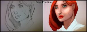 Paint Practice by riazkhan
