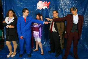 Cosplay Phoenix Wright Group by NeoSaturn69