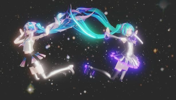 In the Galaxy (Wallpaper) by mikulea