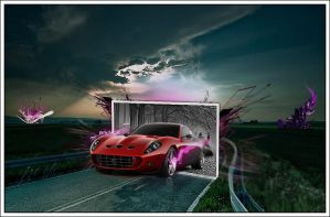 Ferrari Photomanip by Juaozituh