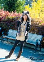 PS15 - Fall Model in Golden Gate Park by BlizzardTerrak