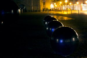 Metal Spheres by He-Tian-Heng