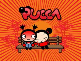 Pucca wallpaper by lordhowitzer