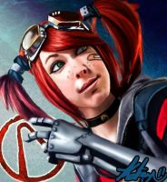 Gaige Cosplay Portrait by Katay