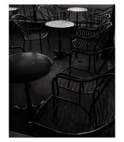 Chairs in the cafe by Dionisic