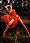 red forest fairy by mochulski
