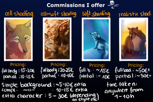 Commission guide by Alukei