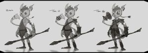 Character Concept by JustMick