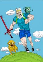 It's ADVENTURE TIME!! by Hopefully-Creative