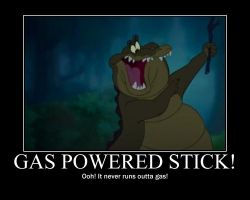 Gas Powered Stick by MonstrousPegasister