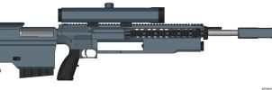 2094- 'Xyron' Anti-Infantry Specialist Rifle by SpectraTaika