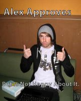 alex approves but.... by PiercedxAlesanaxGirl