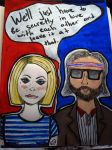 Margot + Richie by AwVeronica