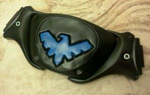 The GCC Nightwing belt buckle by Cadmus130