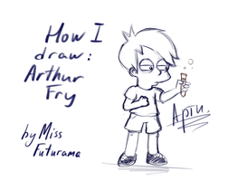 How I draw: Arthur Fry by MissFuturama