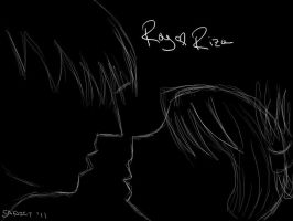Roy and Riza by Sadict