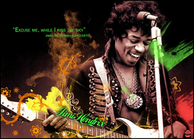 Jimi Hendrix Vector Art SotW 5.2 by WinnieDePoeh