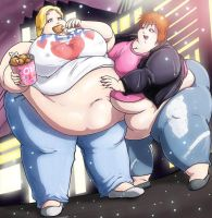 Two SSBBW friends by Satsurou