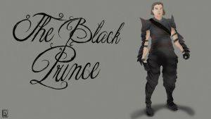 the black PRINCE by jackcrowder