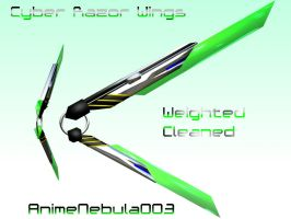 Cyber Razor Wings DL! by AnimeNebula003