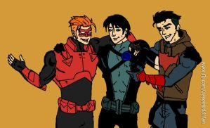 Grayson and the Outlaws by Jasontodd1fan