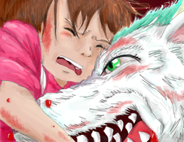 Spirited Away: Bleeding From the Inside by RomaniaBlack