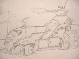 Urban Light Tank by CrazyKempatchi