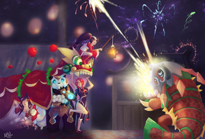 Art of Revelry by Kalcedonyx
